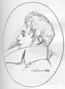 1838_drawing_of_Kierkegaard